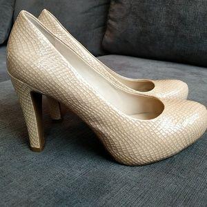 Franco Sarto nude high heels
